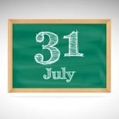31 July